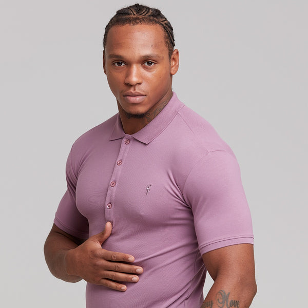 Father Sons Classic Lavender Polo Shirt - FSH270 (PRE ORDER > 24TH SEPTEMBER)