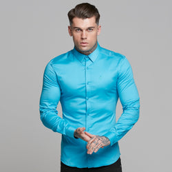 Father Sons Super Slim Luxe Ultra Stretch Bright Blue -  FS537