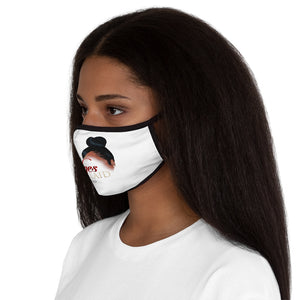 Instant Edges — Fitted Polyester Face Mask