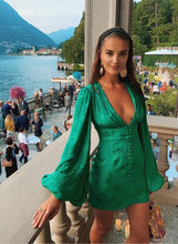 Load image into Gallery viewer, Isabella Green Dress