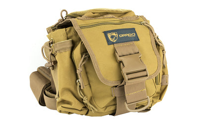 DRAGO GEAR HIKER SHOULDER PACK TAN
