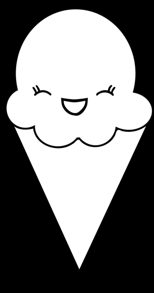 Ice Cream Window Decal
