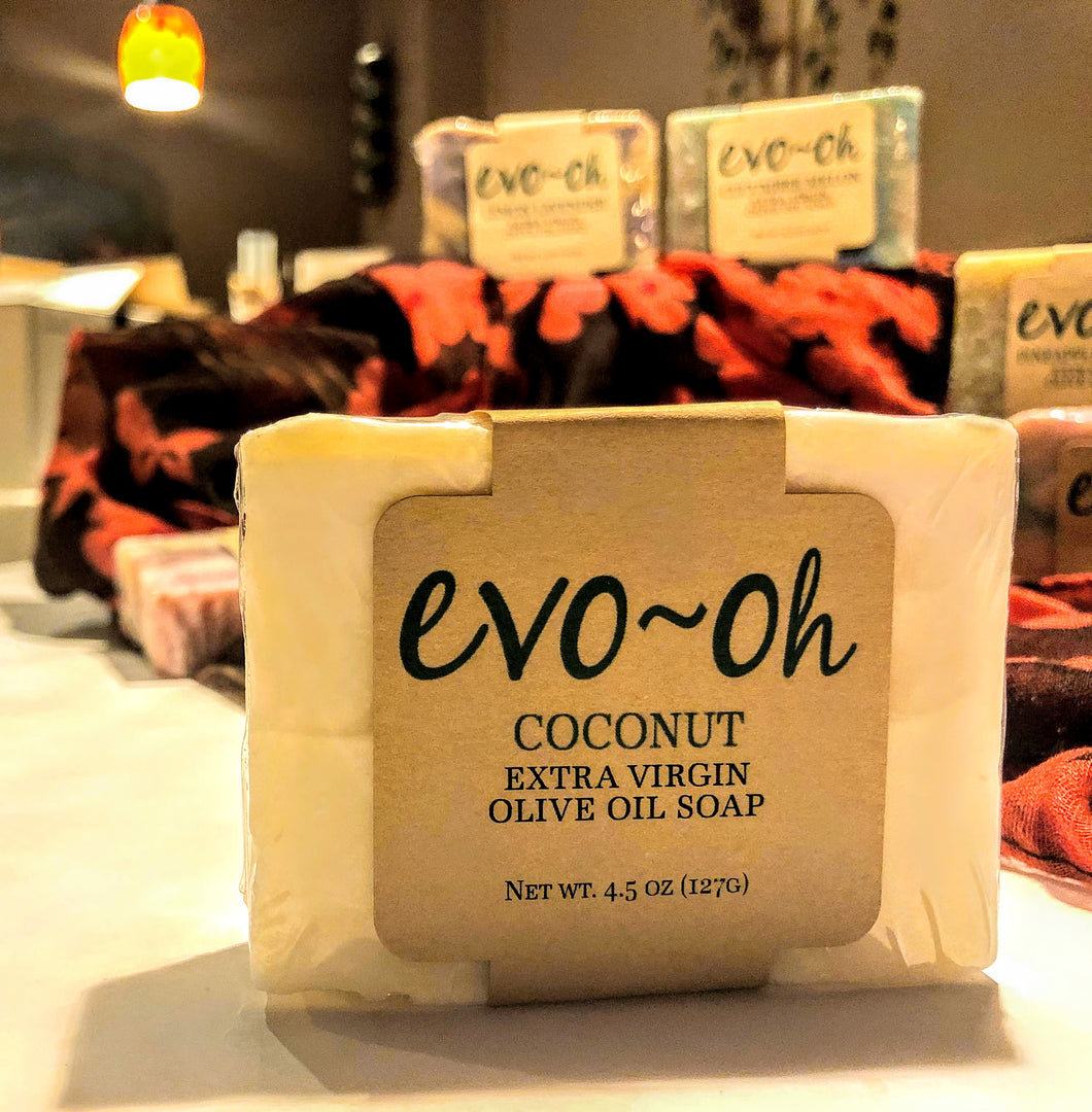 Coconut Extra Virgin Olive Oil Soap