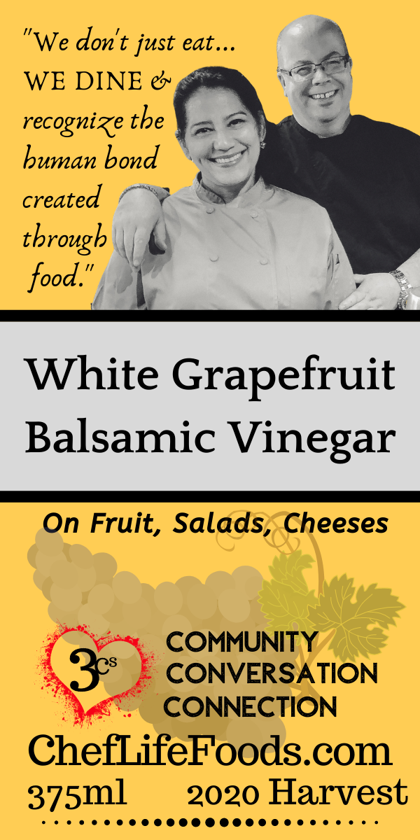 White Grapefruit Balsamic Vinegar