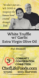 White Truffle Extra Virgin Olive Oil