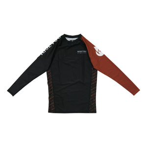 CLASSIC RASH GUARD • BROWN