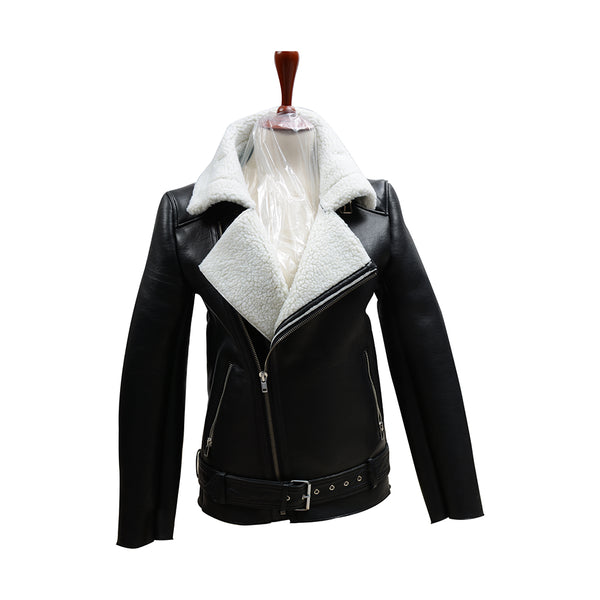 Fur Leather Jacket