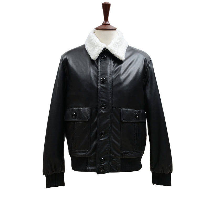 Leather Jacket Sheep Vintage