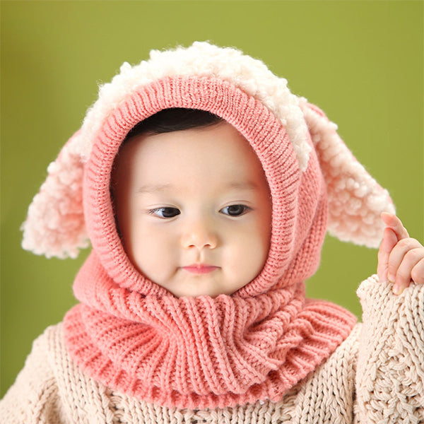 Winter Limited Promotion✨2-in-1 Cute Toddler Beanie+Scarf