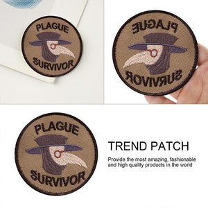 Plague Survivor Geek Merit Badge Patch