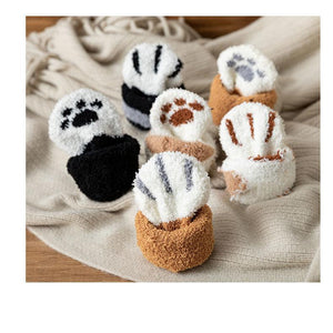 WINTER CAT CLAWS CUTE THICK WARM SLEEP FLOOR