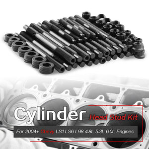 2004-UP 12-Point Cylinder Head Stud Kit 33449 For Chevy LS1 LS3 LS6 5.3L 5.7L