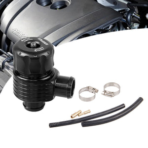 25mm Turbo Dump Blow Off Valve Kit Turbo Aluminum Black For Golf Polo Audi Cupra