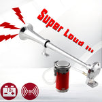 Load image into Gallery viewer, Air Horn 150db 12V Super Loud With Compressor For Trucks Car Boat Universal