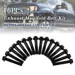 Load image into Gallery viewer, 16Pcs Diesel Exhaust Manifold Bolt Kit For 94-03 Ford F250 F350 7.3L Powerstroke