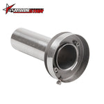 "Load image into Gallery viewer, 4.5"" Adjustable Silencer Exhaust Muffler Adjustable Removable Silencer Universal"