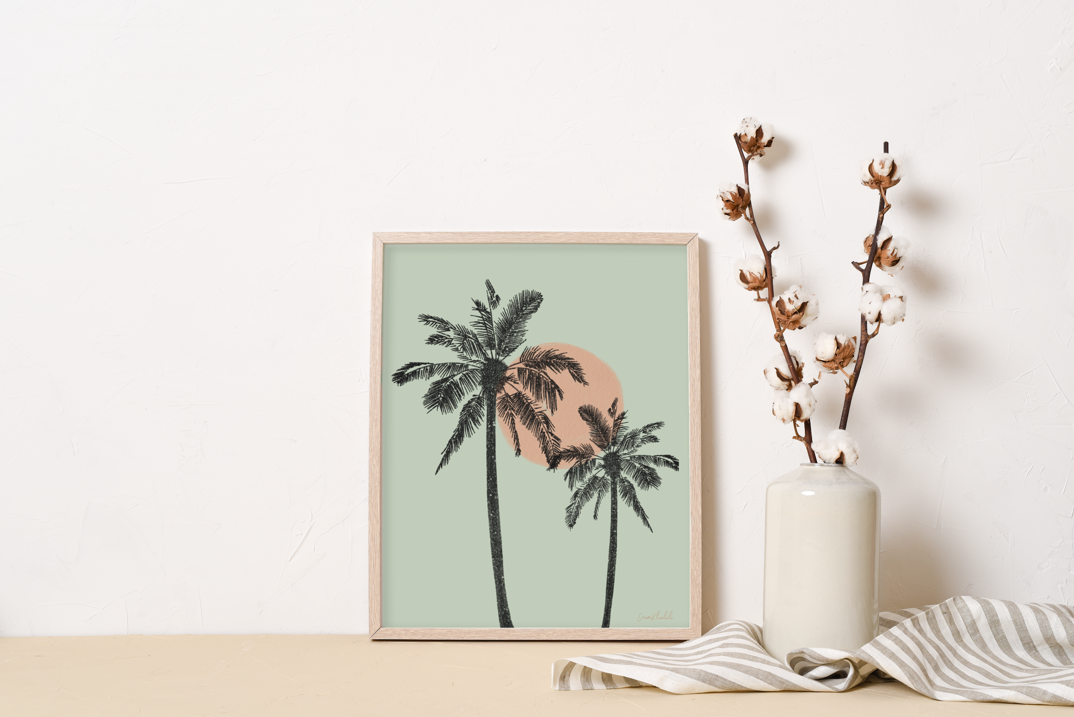 Cali Palms - Wall Art Print