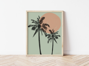 Open image in slideshow, Cali Palms - Wall Art Print