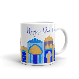 Open image in slideshow, Ramadan Mug - Blue and Purple Mosque