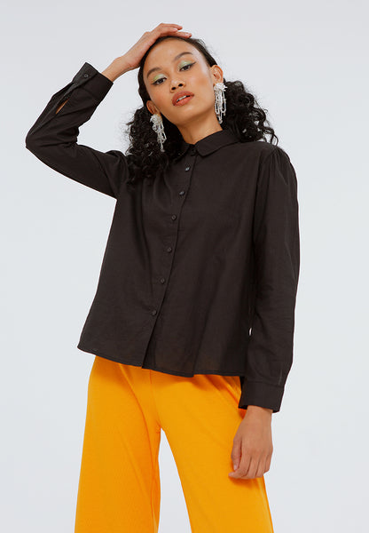 Puff Sleeves Shirt