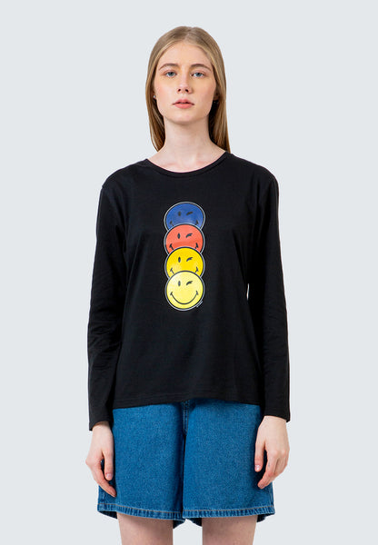 SmileyWorld Long Sleeve T-shirt