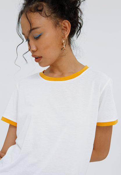 Crop Contrast T-shirt