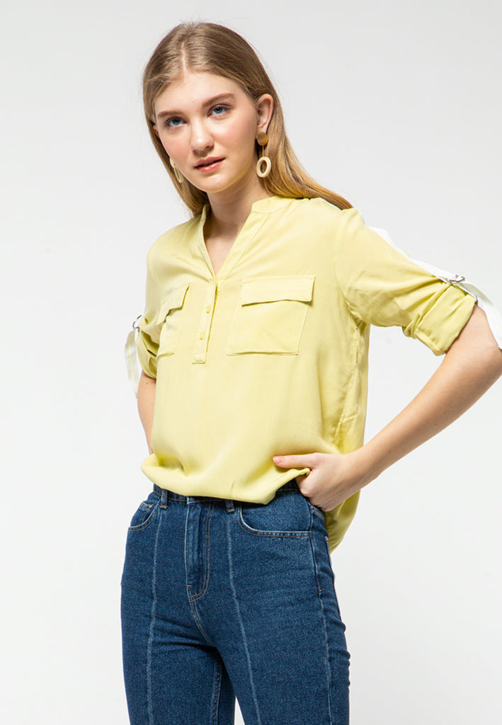 Utility Shirt with Tape