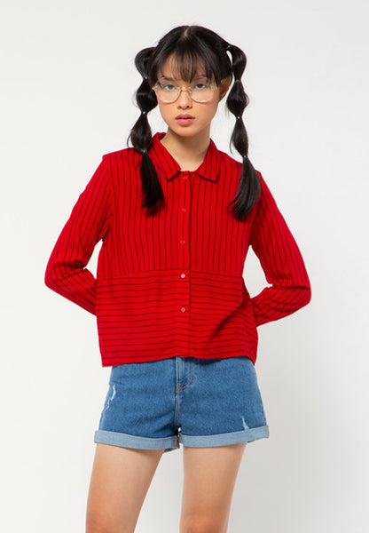 Crop Long Sleeves Shirt