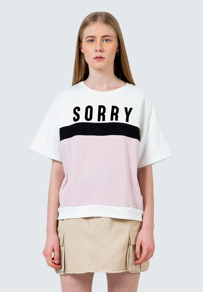 Oversized Sorry Tee
