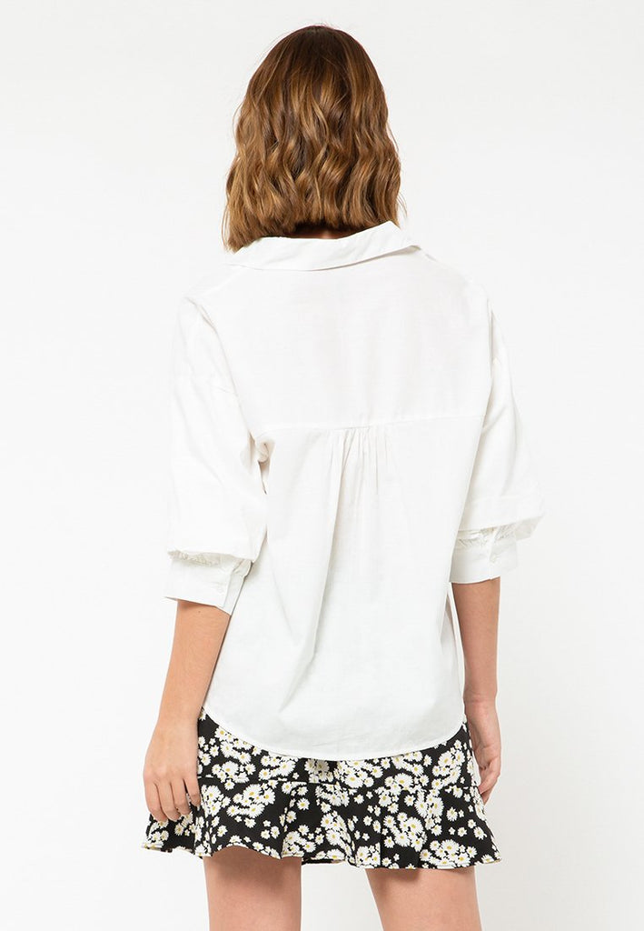 Voluminouse Sleeve Shirt