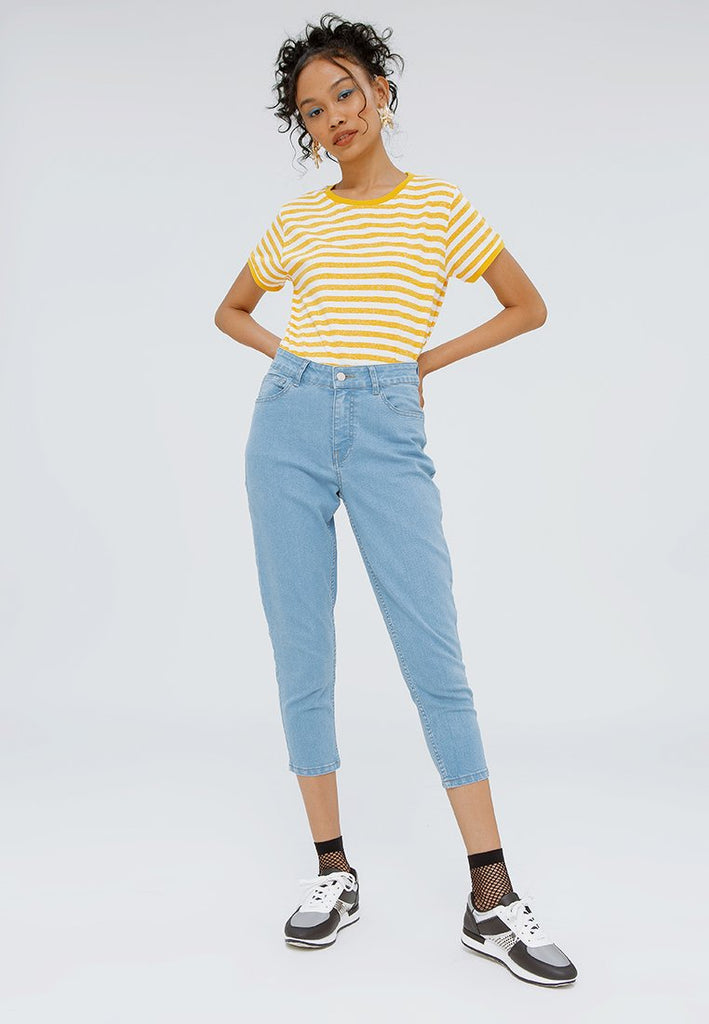 Capri Denim Pants