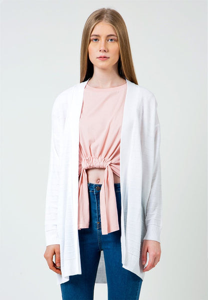 Off white Loose Cardigan