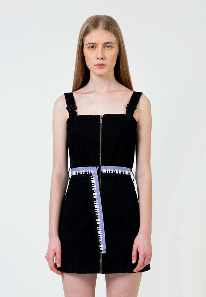 No Limits Printed Belt Dress