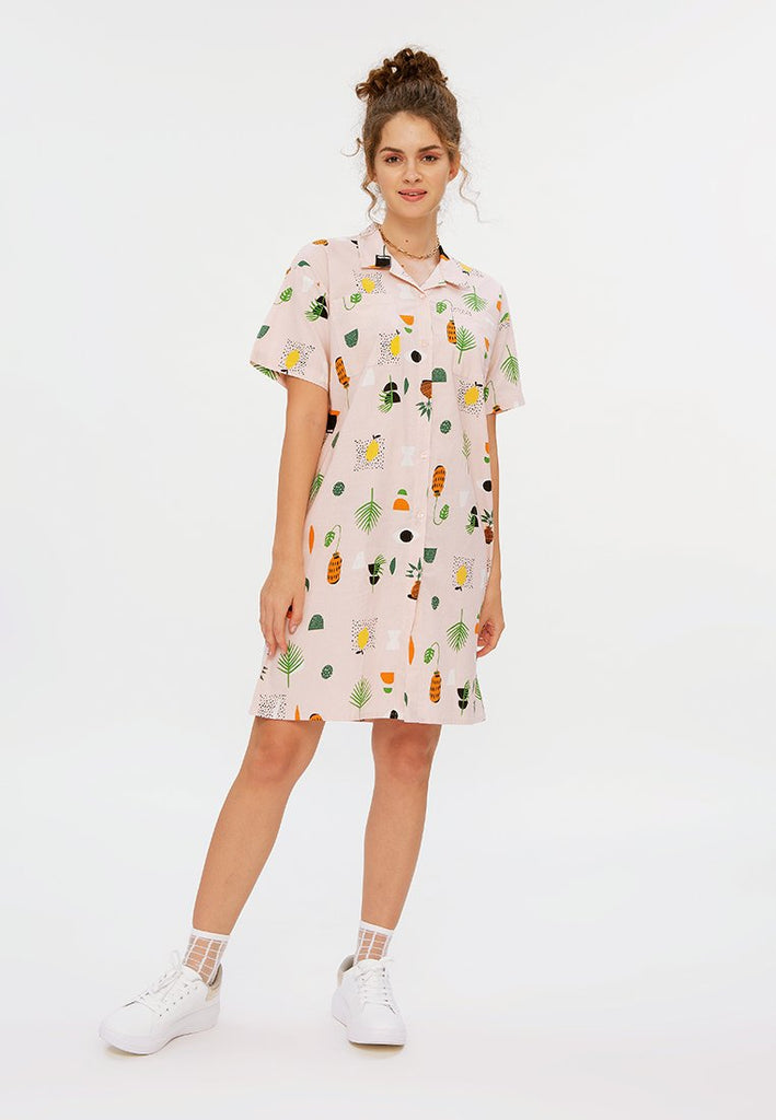 All Over Print Dress
