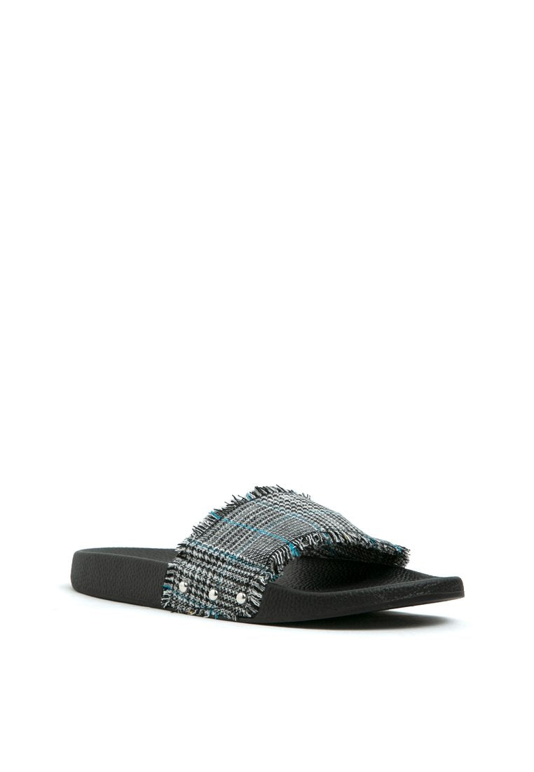 Plaid Sandal