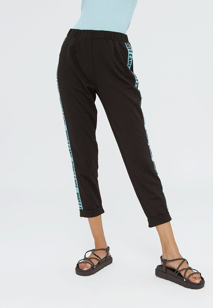 Tailored Pants with Side Tape