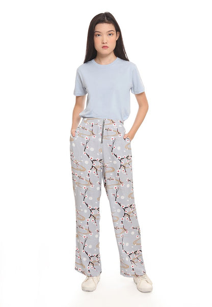 Smiley®Loose Printed Pants