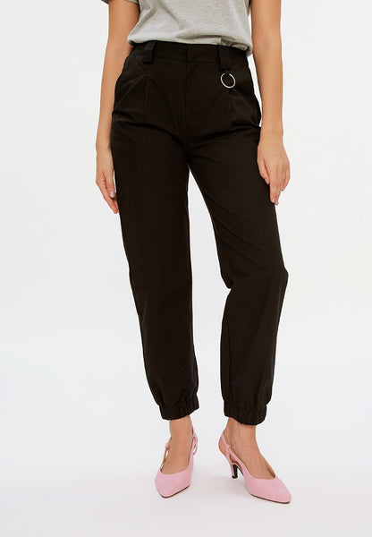 Cargo Pants with Ring Detail