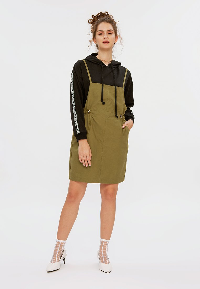 Pinafore with Drawstring Details