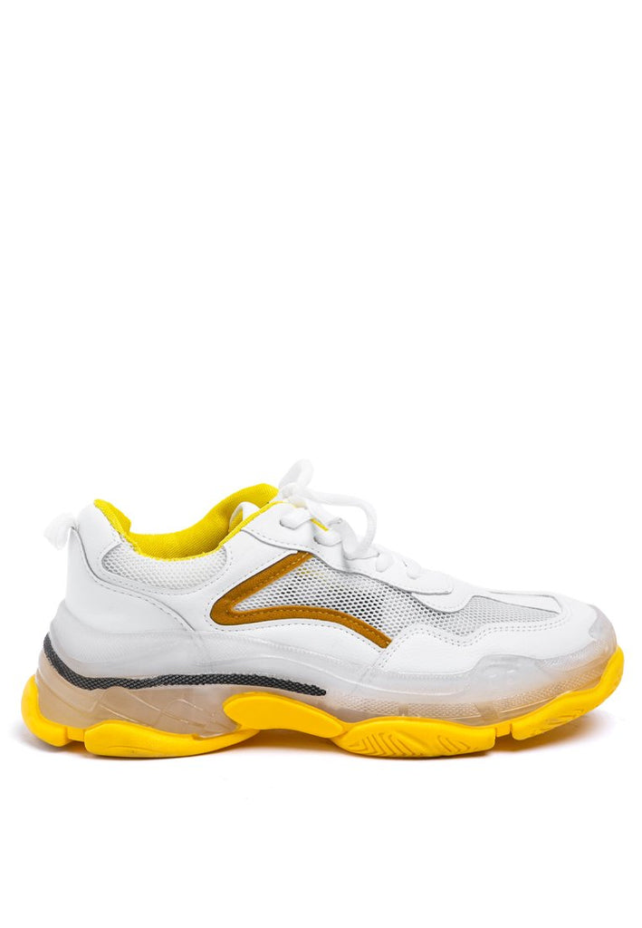 Yellow Sporty Shoes