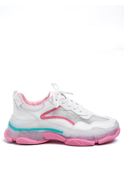 Pink Sporty Shoes