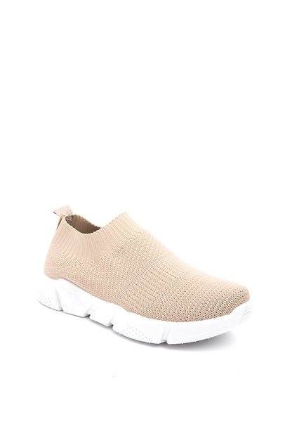 Slip on Shoes - Khaki