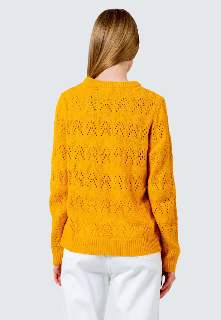Wave Patterned Sweater