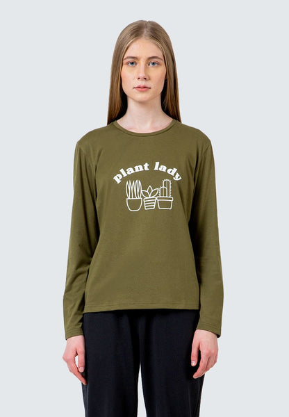 Plant Lady Long Sleeve T-Shirt