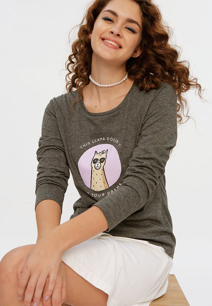 Ilama Long Sleeves T-shirt