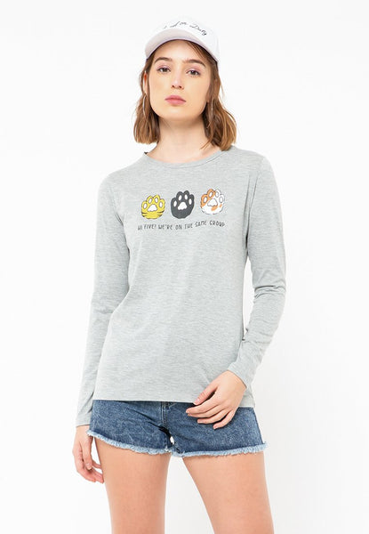 Hi Five Long Sleeve T-Shirt