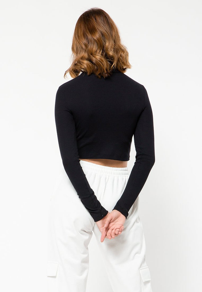 High Neck Long Sleeves