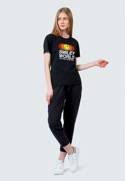 SmileyWorld Round Neck T-shirt