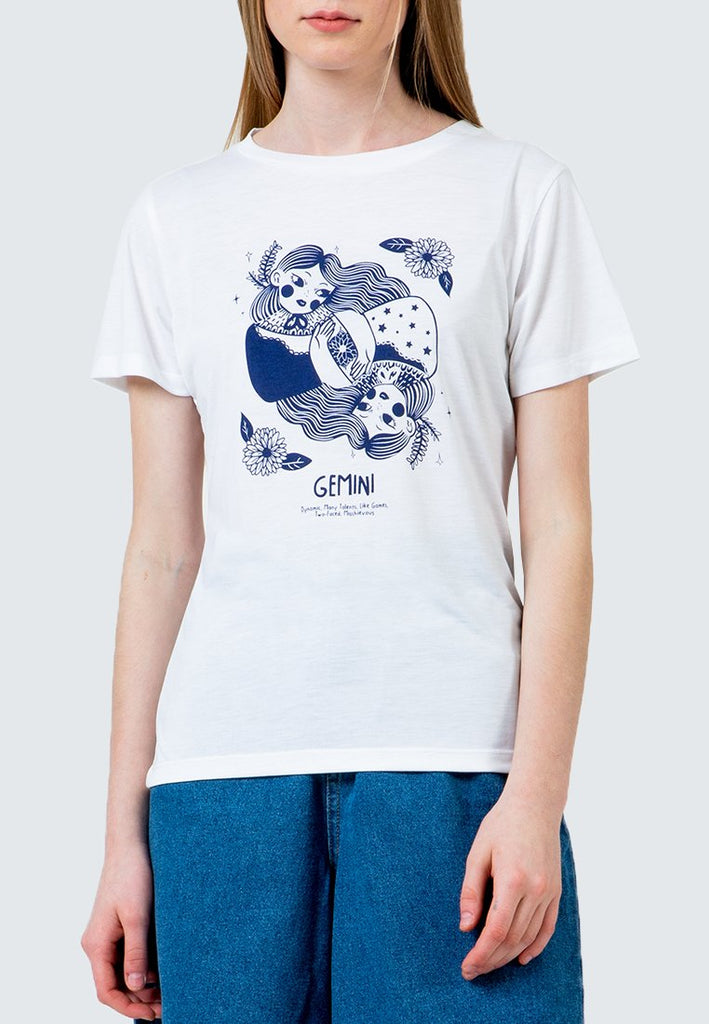 Gemini Round Neck T-Shirt