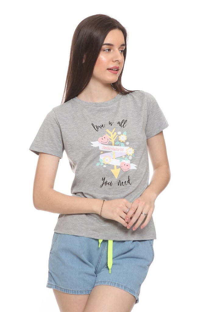 SmileyWorld Crew Neck T-Shirt